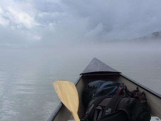 Above & Beyond Alaska: Front of the Canoe