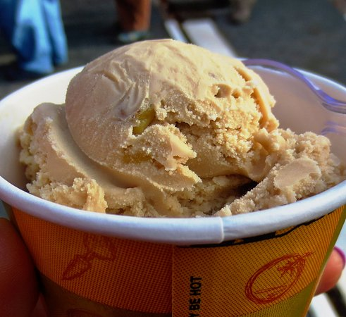 Shelburne Falls, MA: Maple walnut ice cream was part of our tour