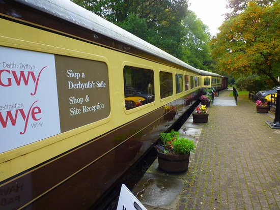 Tintern, UK: The carriages