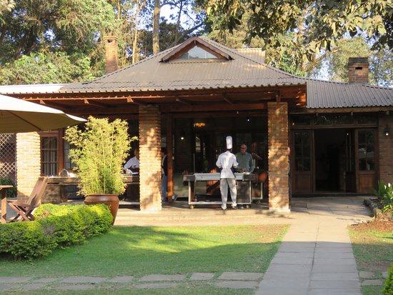Arusha Coffee Lodge: Made to order breakfast