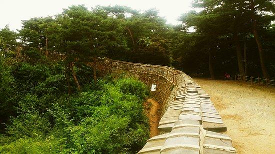 Gwangju, Korea Selatan: The architects of еру fortress skillfully used landscape
