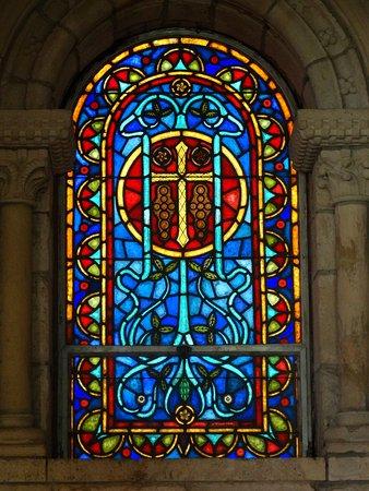 นอร์ทไมแอมีบีช, ฟลอริด้า: Ancient Spanish Monastery stained glass window