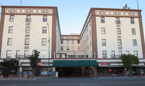 Douglas, AZ: This 1929 hotel replaced an older one that burned down.