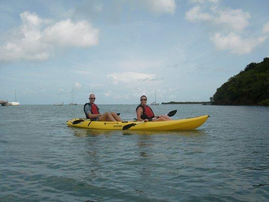 Christiansted, St. Croix: Kayaking in Salt River Bay