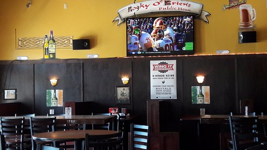 North Liberty, IA : one of the many televisions...