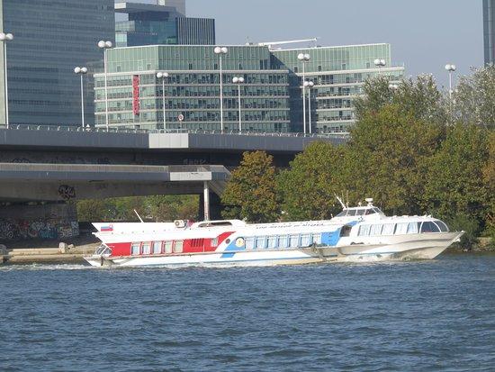 Vienna to Bratislava Hydrofoil