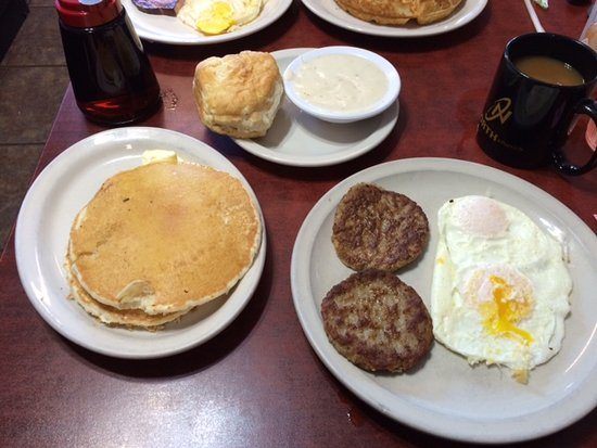 Guthrie, OK: The choose four item meal.