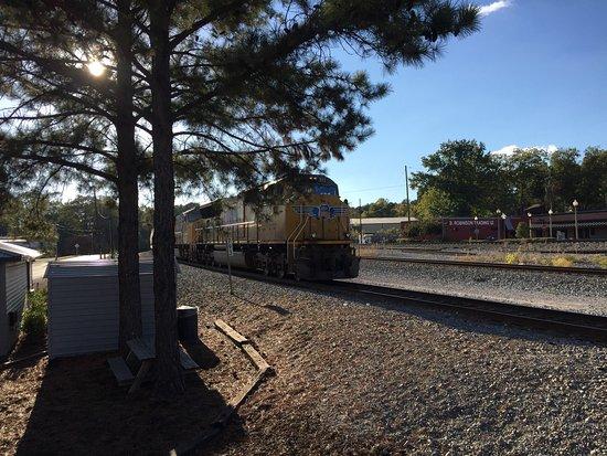 Irondale, Αλαμπάμα: Train Watching Platform