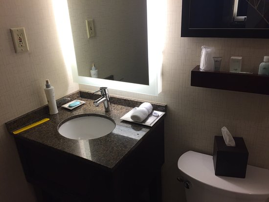 Cruise Ship Bathroom In A Hotel Picture Of Wyndham New Orleans