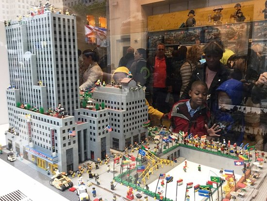 Rockefeller Center - Picture of The LEGO Store, New York City ...