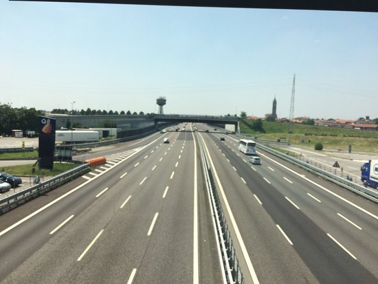 Osio Sopra, Ιταλία: Autogrill Brembo
