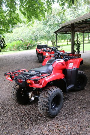 Parrita, Costa Rica: The ATVs were new and beautiful!