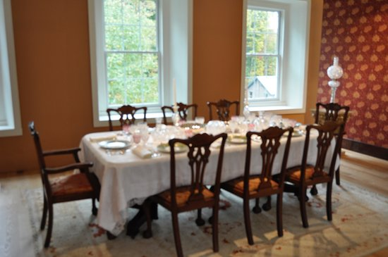 White Mills, Pensilvania: Full table setting