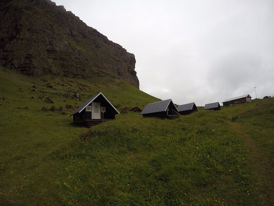 Vestmannaeyjar, Islandia: We had the first hut