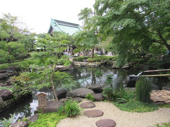Hase-dera Temple: beautiful pond