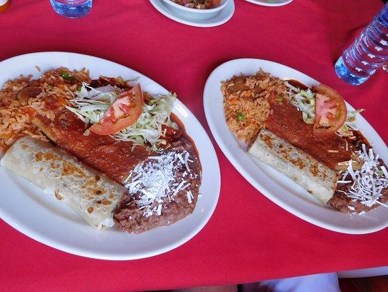 Nogales, Аризона: Combination platter
