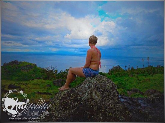 Waya Lailai, فيجي: Wobbly Rock View 