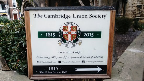 Cambridgeshire, UK: One of the old societies in the University