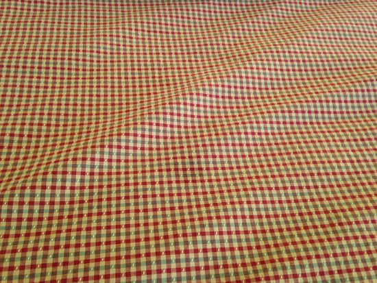 Peru, Vermont: Small stain on the blanket