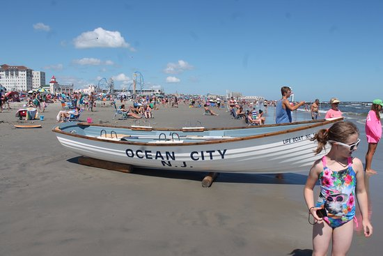 On the Ocean City shore