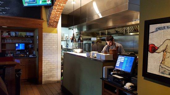 Downingtown, Pensilvania: The kitchen