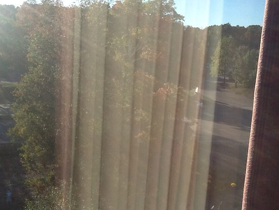 Mansfield, MA: View for room 520 (top floor facing the main parking lot and Forbes blvd)