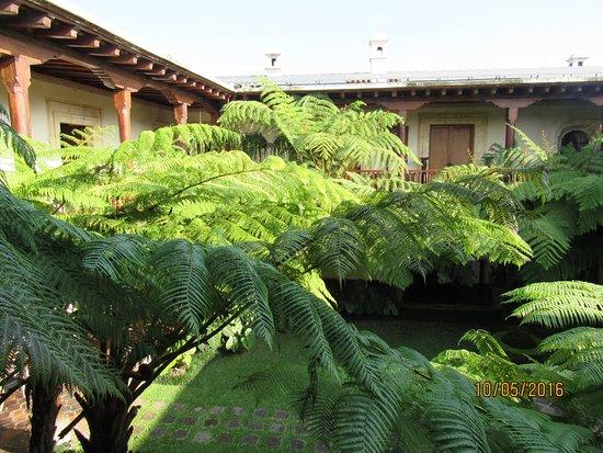 Palacio de Dona Leonor: ´patio interior