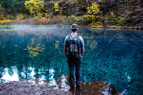 Tamolitch Blue Pool Trail: Gazing In Awe At The Beauty Of Tamolitch.