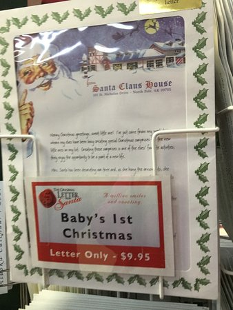 Santa Claus House: Letters to Santa for sale