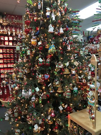 Santa Claus House: Christmas trees