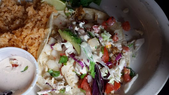 El Mercado: Fish taco-I ate one already