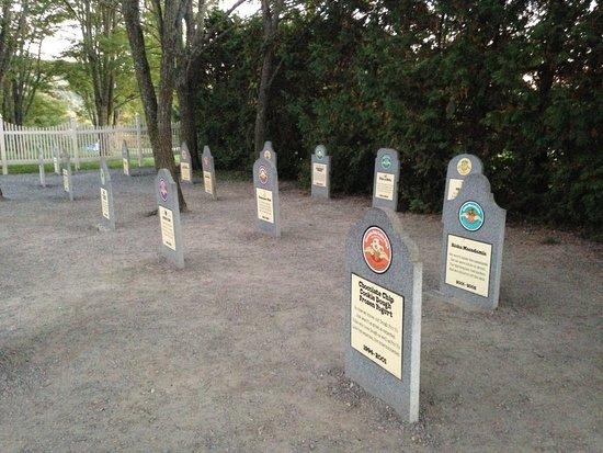 Waterbury, VT: Gravestone markers