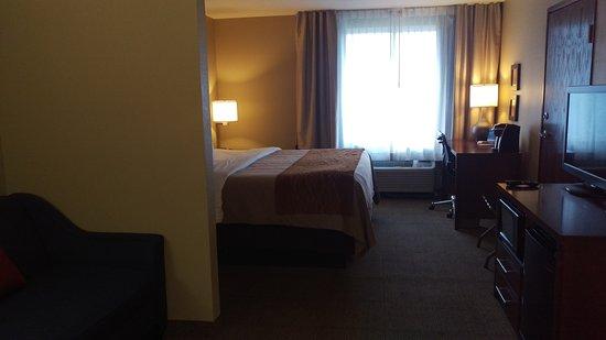 Spokane Valley, WA: King Suite
