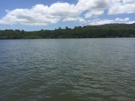 Daintree, Αυστραλία: Fotos desde el bote que usa células fotovoltaicas