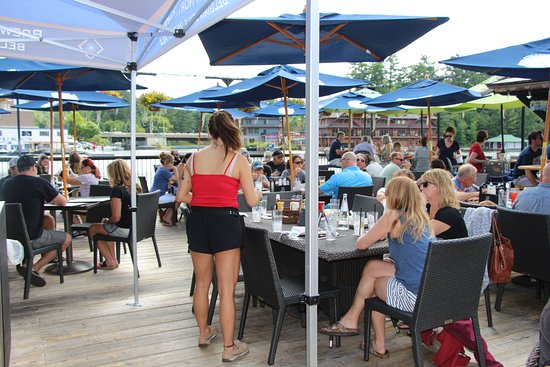 Port Carling, Canada: Outdoor patio