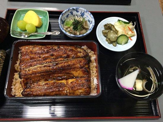 Tsuchiura, Japón: 奮発して特上にしてみました。ご飯少な目で年寄りにはちょうど良かった