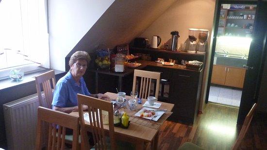 Komarom, Hungría: Breakfast