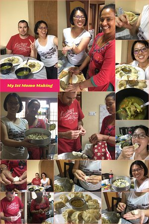 Kathmandu Valley, Nepal: my 1st momo making experience