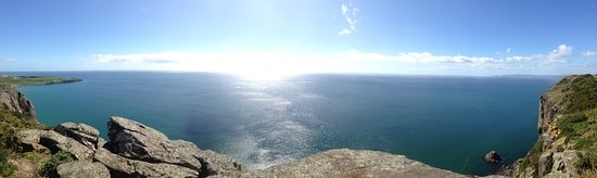 Stanley, Australia: Bass Strait Ocean View from the top