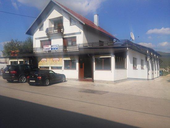 Central Croatia, Chorwacja: Restoran Ćamar