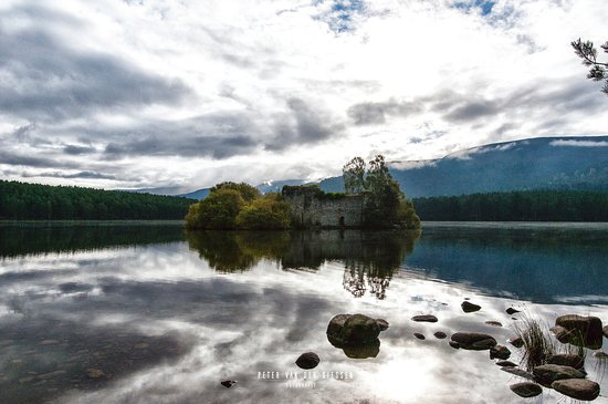 Aviemore, UK: Mysterious old building