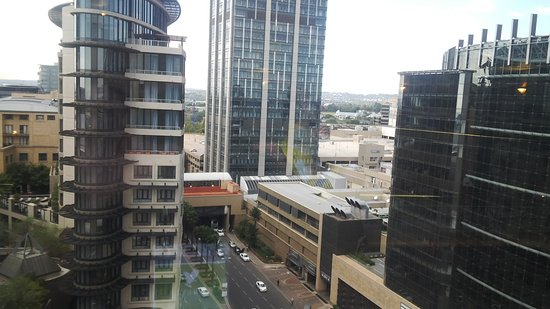 InterContinental Johannesburg Sandton Towers: The View outside my room