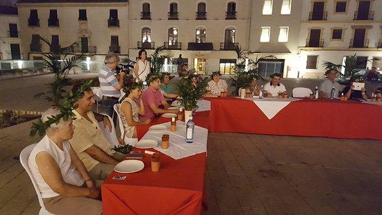 baena, España: Distintos platos y eventos
