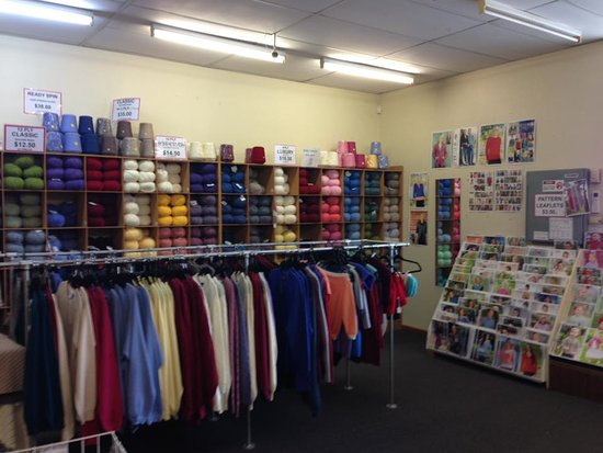 Bendigo Woollen Mills shop is full of choices