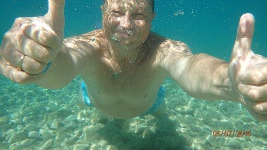 Lokva Rogoznica, Kroatia: Кристально чистая вода