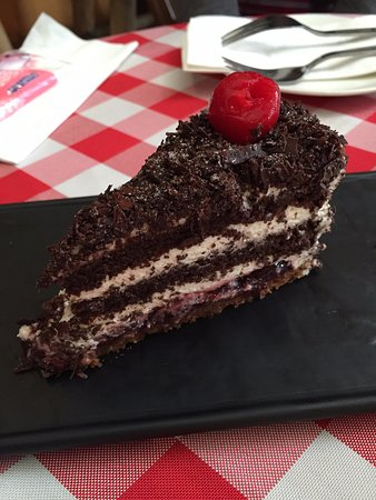 Wellnessoase Stuttgart , The Signature Blackforest Cake The Cherries Are Soaked In Alcohol