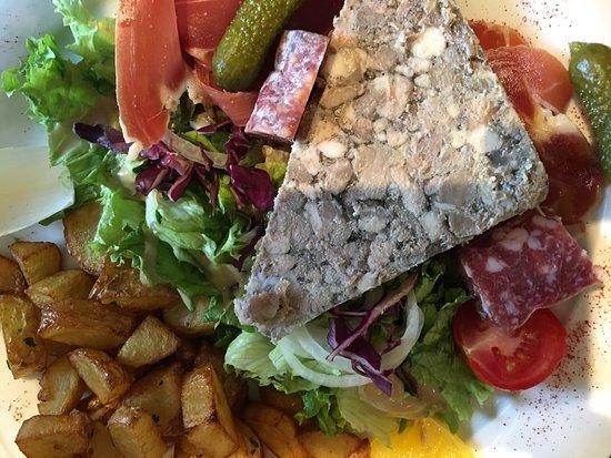 La Cavalerie, Франция: Salade auvergnate