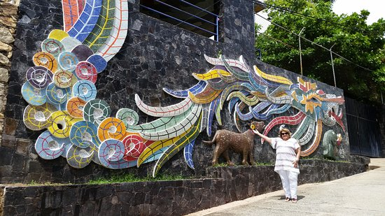 Huge mural picture of mural diego rivera acapulco for Mural quetzalcoatl