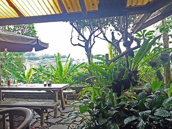 Warung Lela: outdoor seating