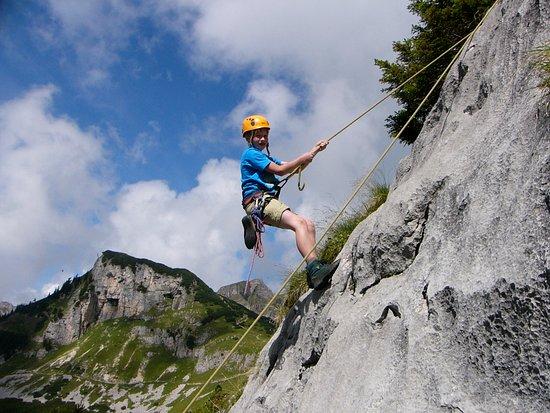 Klettersteig Achensee : Klettersteig im rofan bild von alpinsport achensee pertisau